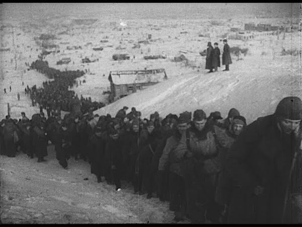 Итоги Сталинградской битвы кинохроника 1943г