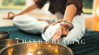 0001 ♫ 乾淨無廣告 ♫ 100min Meditation Chakra Healing / 100分鐘脈輪冥想. 西藏缽音.身.心.靈療癒