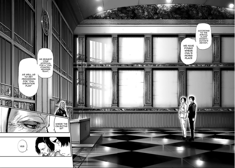 Tokyo Ghoul, Vol.12 Chapter 121 Bull's Eye, image #17