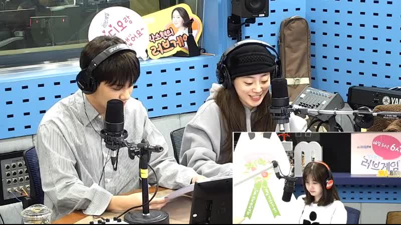191113 Хо Ёнджи Hur Youngji и Ён Джу Park Yongjoo на SBS Power FM Park Sohyuns Love Game