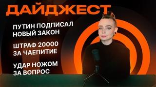 3 удара ножом за вопрос Путину   Уголовное дело для Михаила Дегтярёва   Штраф 20000 за чаепитие