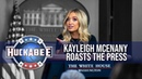 """Kayleigh McEnany ROASTS The Press For """"Dereliction Of Duty"""" Huckabee"""