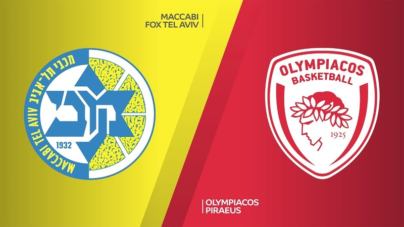 Maccabi FOX Tel Aviv Olympiacos Piraeus Highlights Turkish Airlines EuroLeague RS Round 26