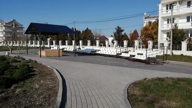 Концертная зона парка Свято - Георгиевского монастыря