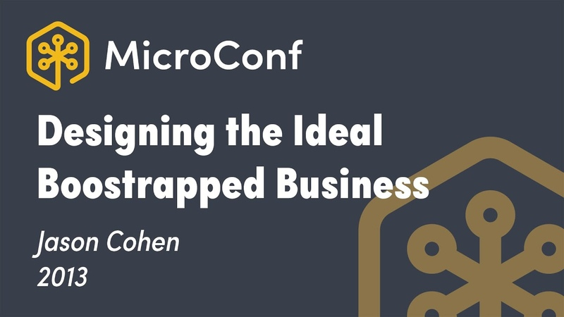 Designing the Ideal Bootstrapped Business Jason Cohen Founder WP Engine