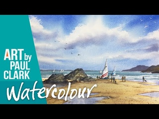 How to Paint a Beach Scene in Watercolour