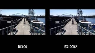 SONY DSC-RX100 vs RX100M2