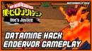 ENDAVOR GAMEPLAY MY HERO ACADEMIA ONE'S JUSTICE DATAMINED
