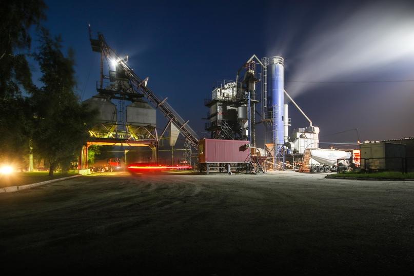 В Курской области модернизируют заводы для выпуска асфальтобетона по новой технологии, изображение №1