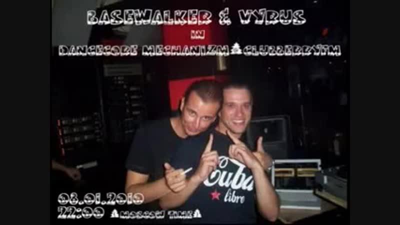 08.01.2010 Basewalker Vyrus @ Clubberry Fm