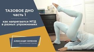 Тазовое дно упражнения. Как мышцы напрягаются в разных упражнениях.  Часть 1
