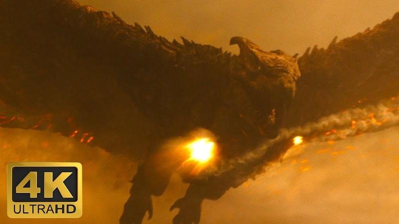Родан против Истребителей Годзилла 2 Король монстров