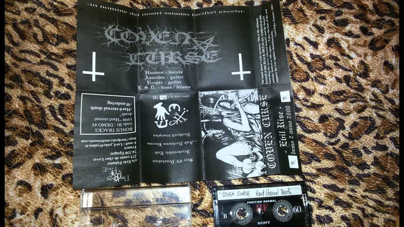 Coven Curse Fra Evil Rise demo 2000 french raw black metal
