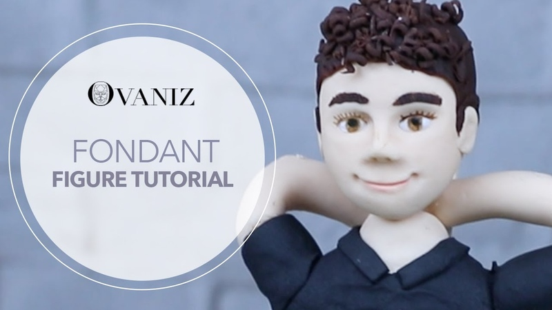 How to make fondant figures How to make fondant people Fondant cake toppers