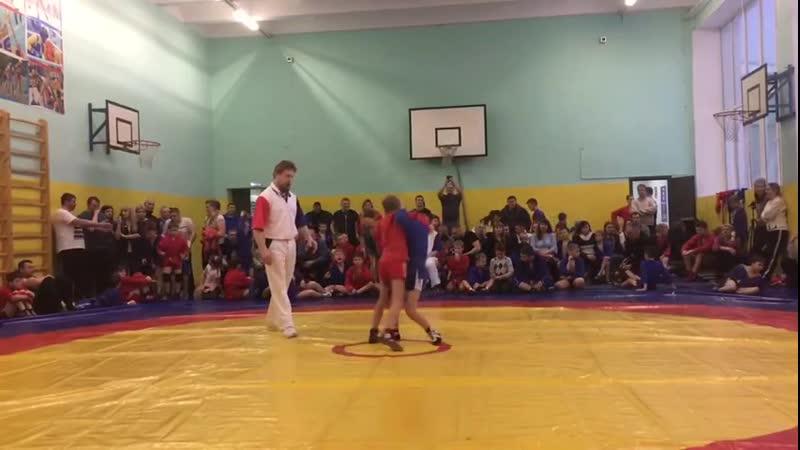 День борьбы Ильинск Рома Краснов 2 схватка