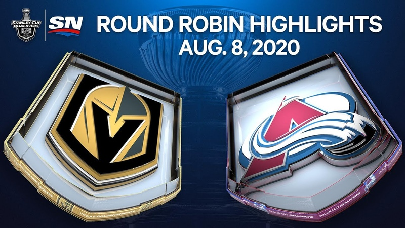 NHL Highlights Golden Knights vs Avalanche Aug 8 2020