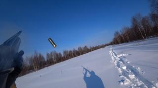 Ружье МР-155. Охота на лунках.