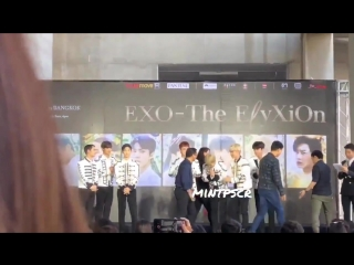 LQ FANCAM 180317 `The EyXiOn` in Bangkok: D-2 Press Conference @ EXO