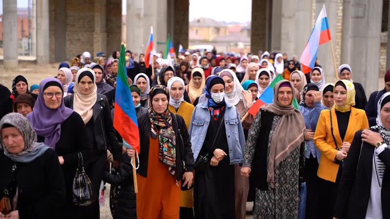 Делегация женщин г Буйнакск и Буйнакского района в духовном центре им Пророка Исы мир ему