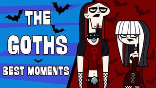RIDONCULOUS RACE: The Goths' best moments | Total Drama