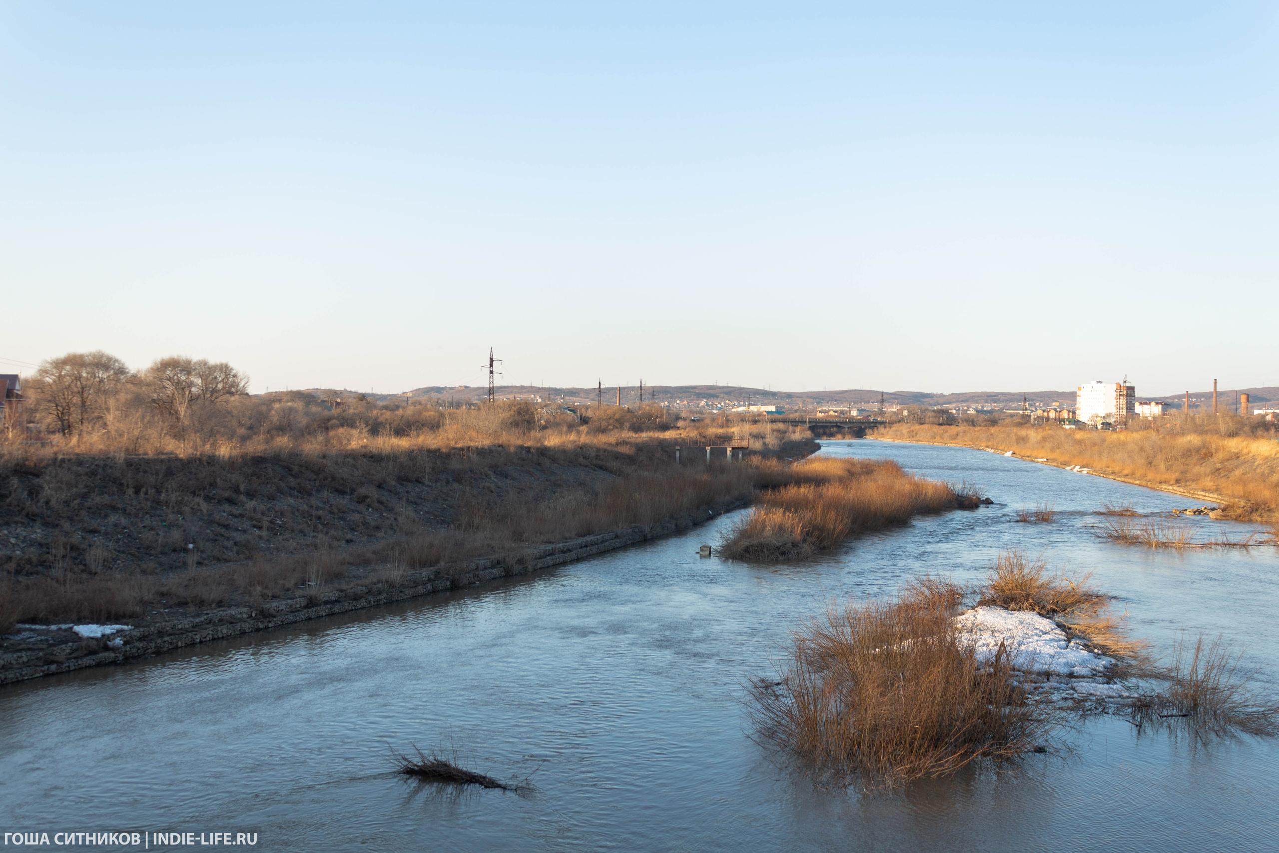 Река Уссурийск