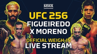UFC 256: Figueiredo vs. Moreno Official Weigh-In Live Stream - MMA Fighting