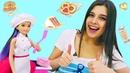 Стейси идет в университет! Профессия повар кондитер - Классные видео для девочек про кукол Барби