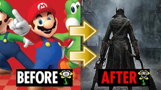 What if Super Mario music sounded like Bloodborne?