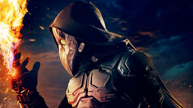 Чумной доктор — враг главного героя, он мстит всем преступника и врагам общества