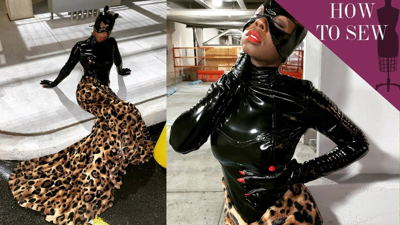 I Redesigned Cat Womens Catsuit | Cosplay Costume Tutorial