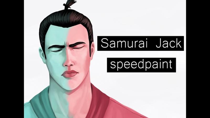 Speedpaint Samurai Jack Самурай Джек