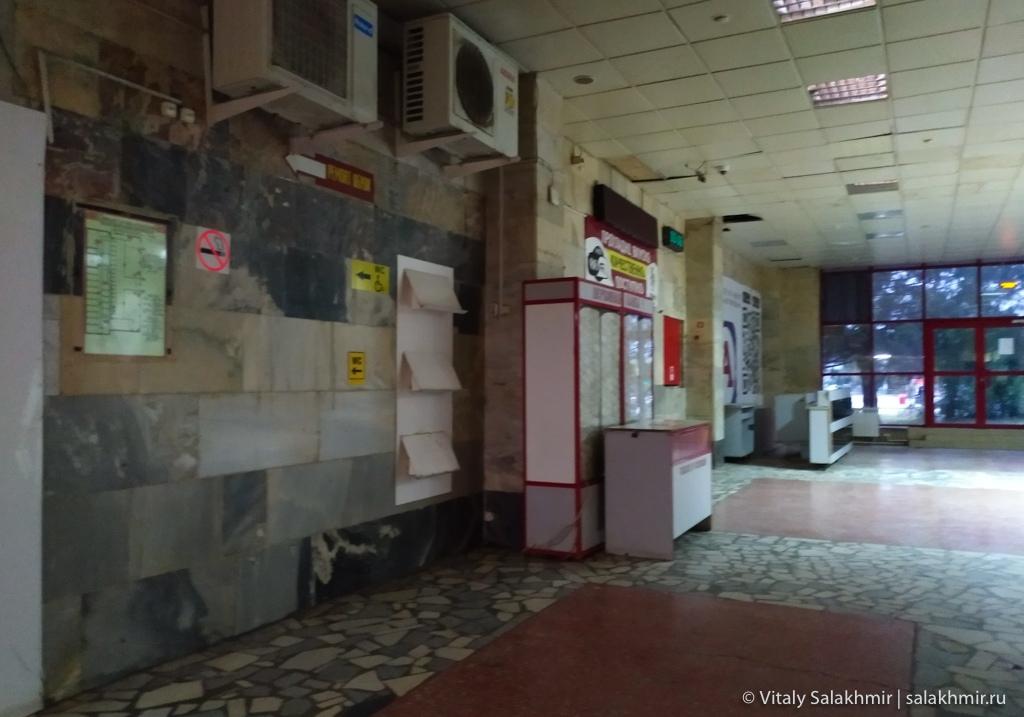 Внутри самарского автовокзала, 2020
