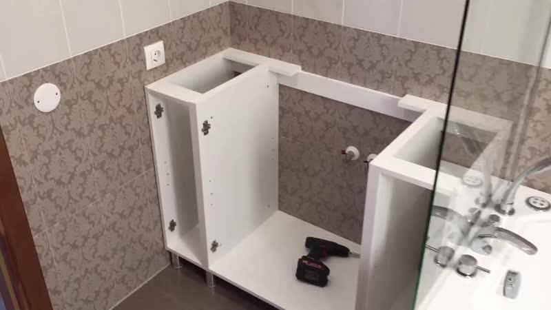 Уставить мебель в ванную.mp4