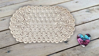 Tapis Feuilles en Relief Crochet Lidia Crochet Tricot