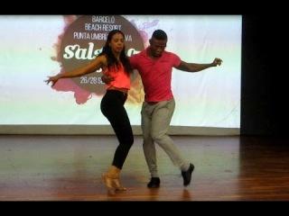 SABOR DINAMICO TALLER DE SALSA CALEA EN SALSALUZ 2014