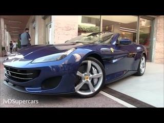 2018 Ferrari Portofino - Start-ups, Tight showroom Parking Sound