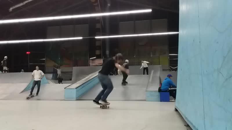 Ramses on skate better fakie big inward heelflip 01 11 2020