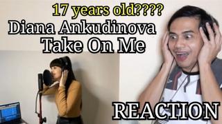 Take On Me Диана Анкудинова  Diana Ankudinova REACTION