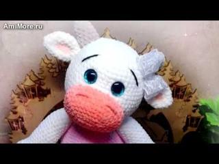 Амигуруми: схема Коровка Мила. Игрушки вязаные крючком - Free crochet patterns.