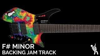 Plini Inspired Modern Progressive Metal Fusion Guitar Backing Track Jam in 7/4 F# Minor / A Major