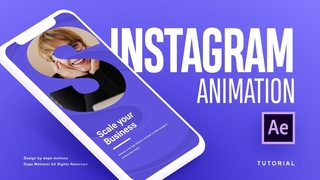 After Effects Tutorial: Modern Instagram Story Animation in After Effects
