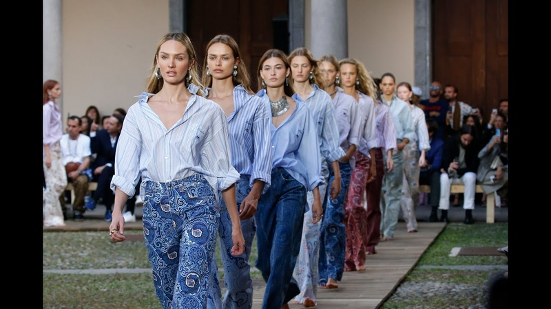 ETRO WOMEN'S SPRING SUMMER 2020 COLLECTION