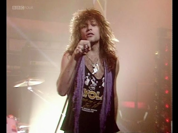 Bon Jovi - Livin' On A Prayer 1986 (HQ Audio, Top Of The Pops)