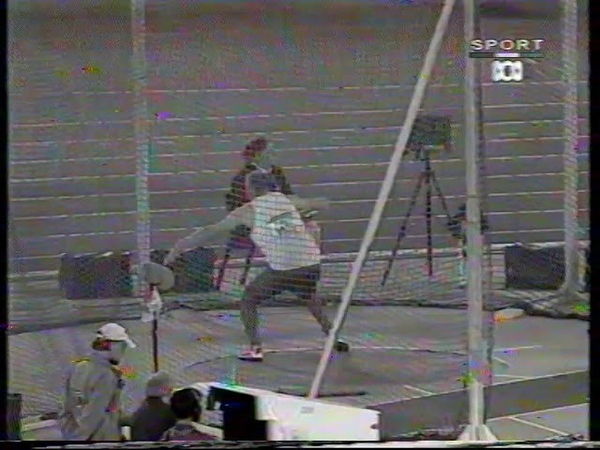 Sydney 2000 Paralympic Games Mens F37 Discus Final poor quality