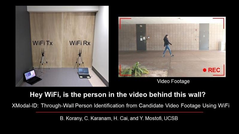Инженеры из Калифорнийского университета разработали технологию идентификации с помощью сигналов Wi-Fi человека, который находит