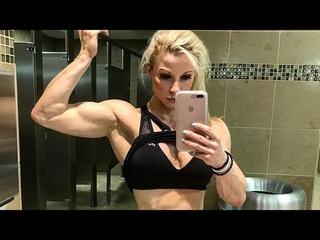 🔥 Iron Biceps, Triceps & Shoulders 💥 Physique IFBB Pro ~ Jessica Williams 💕 💪 💫