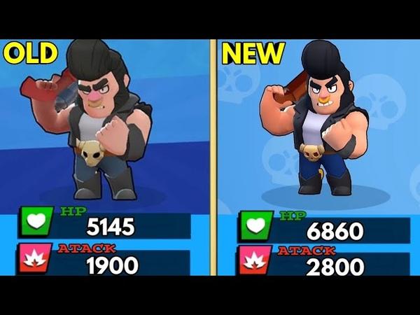 OLD vs NEW BRAWLERS | Brawl Stars
