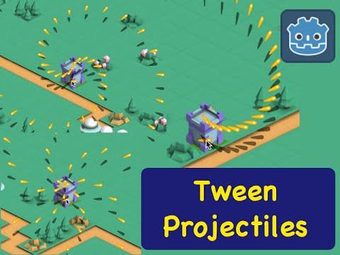 Tween Projectiles Isometric Tower Defense (5.1) Godot 3.1 Tutorial
