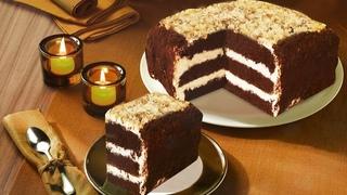 Шоколадный торт. ПП торт для диабетика без муки и без сахара