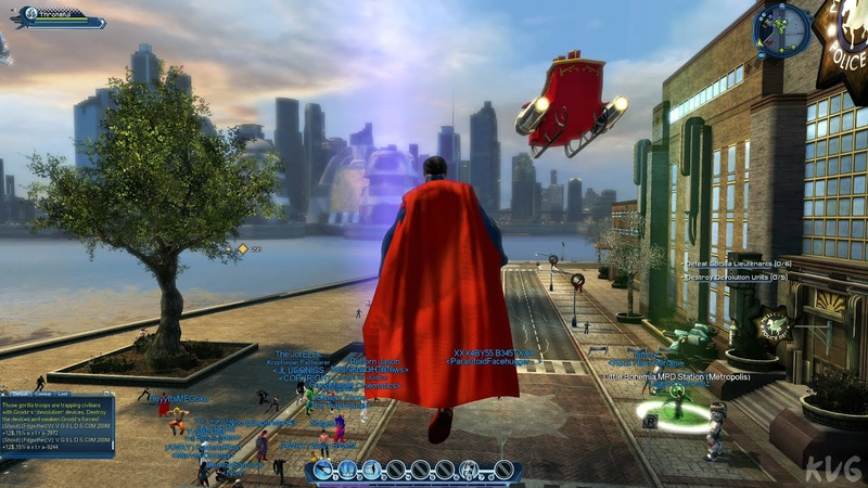 DC Universe Online 2021 Gameplay PC UHD 4K60FPS